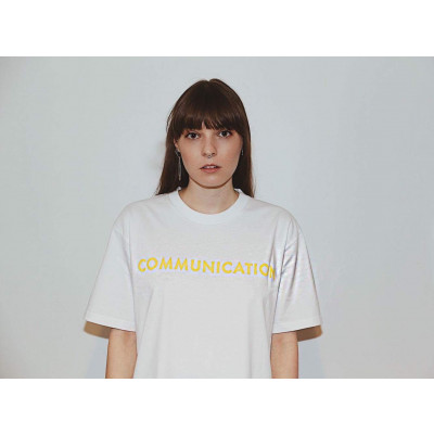 Nicole Millar - White Communication Tee