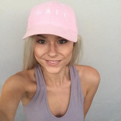 Nicole Millar - Pink Wait Hat